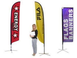trade show flags