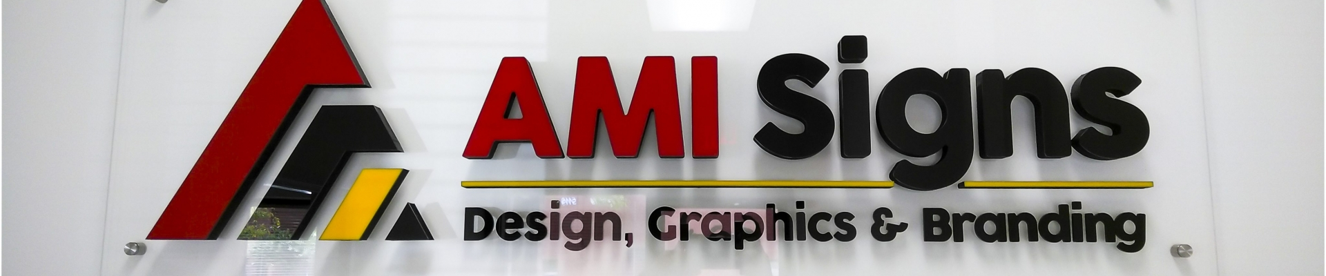 3D Lettering on Acrylic Panel