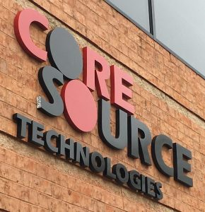 Core Source Exterior Sign