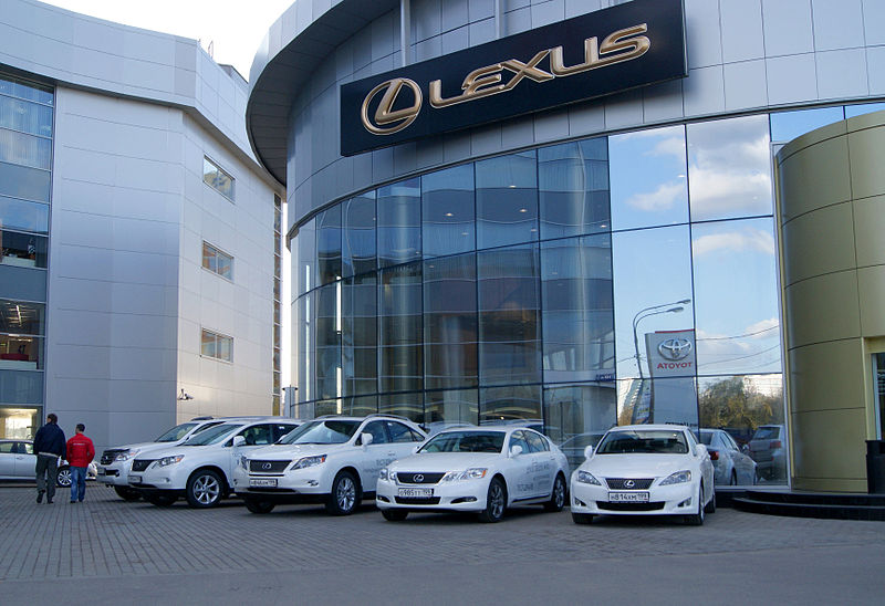Moscow Lexus dealership Kozhukhovo