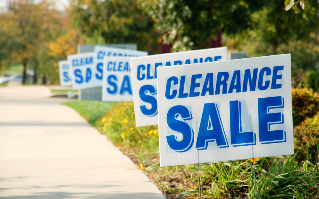 5 Tips for Holding an Effective Yard Sale
